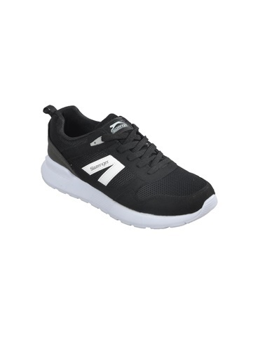 Slazenger Slzenger Shell Siyah-Beyaz Unisex Spor Ayakkabı Siyah